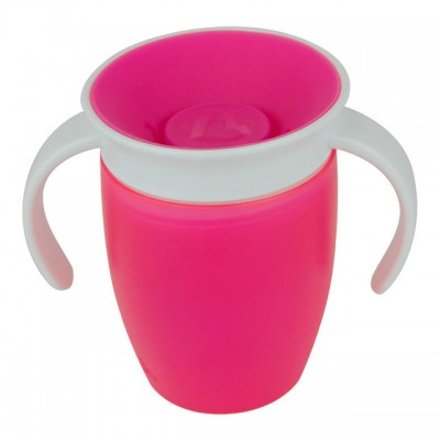 "Чашка непроливна ""Miracle 360"", 207мл. (Розовая)"
