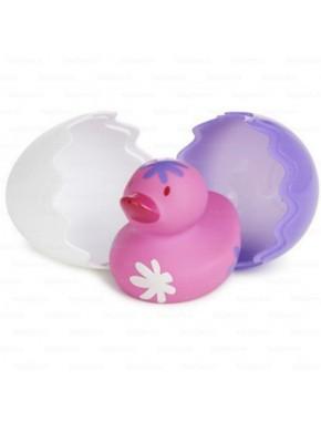 Игрушка для ванны «Утенок» (розовое)