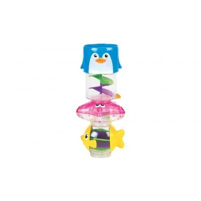 Игрушка для ванны «Пирамида 3 в 1»