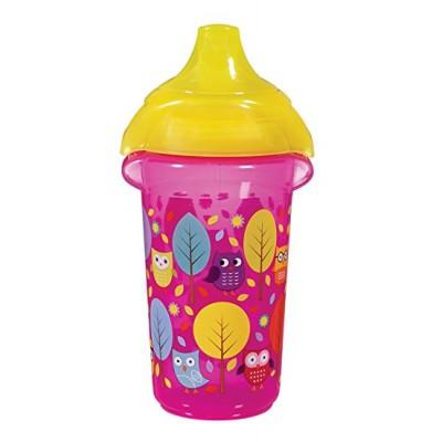 "Бутылка непроливна ""Deco Sippy"", 266мл. (Розовая)"