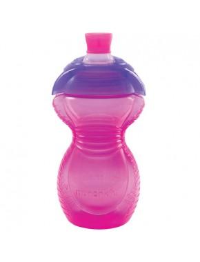 "Бутылка непроливна ""Chew Proof"", 296мл. (Розовая)"