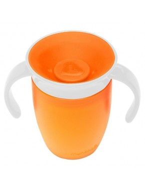 "Чашка непроливна ""Miracle 360"", 207мл. (Оранжевая)"