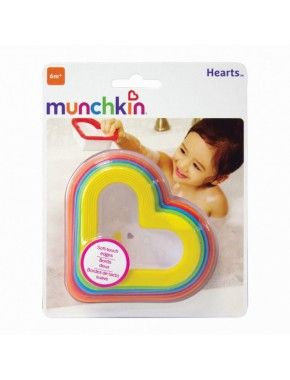 Игрушечный набор для ванны «Сердечки»