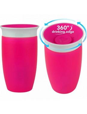 "Чашка непроливна ""Miracle 360"", 296мл. (Розовая)"