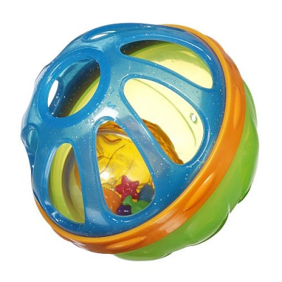 Игрушка для ванны «Мячик» (зелено-голубая)