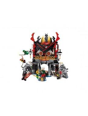 Конструктор JVTOY Храм Воскресения серия герои ниндзя (16012)