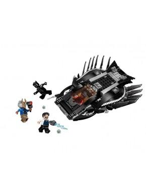Конструктор JVTOY Легендарная черная пантера Cерия лучшие Супер-герои (22001)