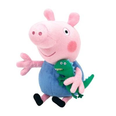 Мягкая игрушка Пеппа Джорж с игрушкой (25088)