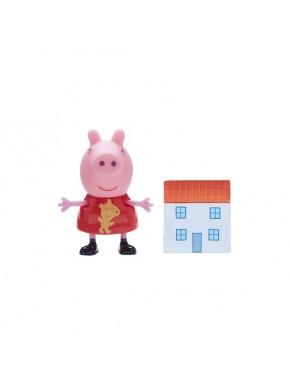Фигурка Peppa - Пеппа с кукольным домиком (06771-6)