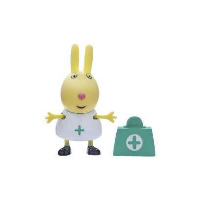 Фигурка Peppa -медсестра с ребекка с чемоданчиком (06771-1)