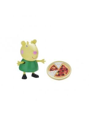 Фигурка Peppa - Габриэла с тарелочкой пиццы (06771-4)