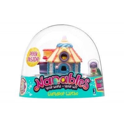 Игровая фигурка Jazwares Nanables Small House Город сладостей, Конфетный домик (NNB0015)