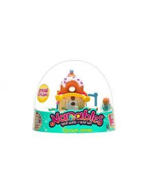 Игровая фигурка Jazwares Nanables Small House Город сладостей, Столовая Пончик (NNB0011)