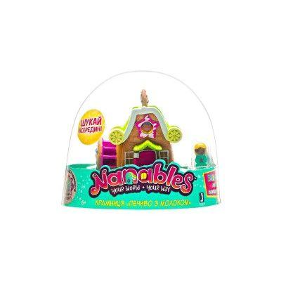 Игровая фигурка Jazwares Nanables Small House Город сладостей, Магазин Печенье с молоком (NNB0012)