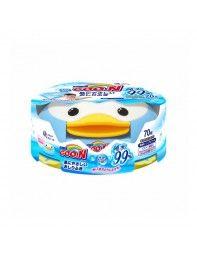 Салфетки влажные Goo.N для чувствительной кожи в пластиковой коробке,70 шт (733530)