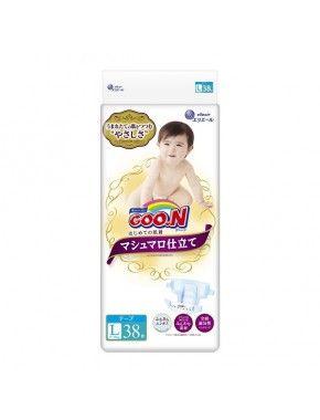 Подгузники Goo.N Super Premium Marshmallow, 9-14 кг, 38 шт (853349)