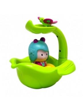 Интерактивная игрушка - МИМИ И ВОЛШЕБНАЯ ЛОДКА-ЛИСТОК (для игры в ванной) 61070