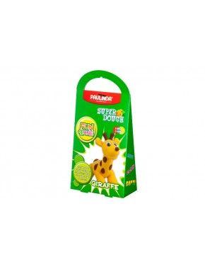 Масса для лепки Paulinda Super Dough Fun4one Жираф, подвижные глаза (PL-1565)