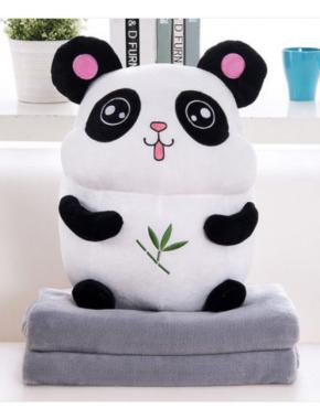 Плед+Подушка(Панда)