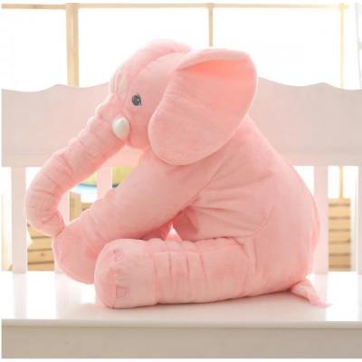 Мягкая подушка 2в1 Розовый слоник (009)