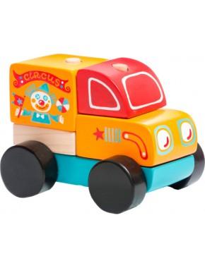 Деревянная машинка Cubika Странствующий цирк LM-7 (13166)