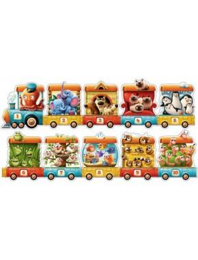 Cubika — Пазлы Поезд