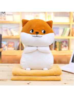 Плед+Подушка(Котик 1)
