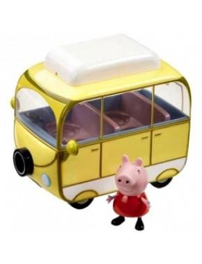 Игровой набор Peppa - ВЕСЕЛЫЙ КЕМПИНГ (автобус, фигурка Пеппы)