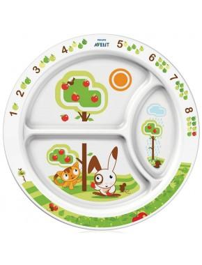 Детская порционная тарелка Philips Avent SCF702/00