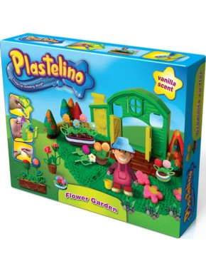 Набор для лепки Plastelino Волшебный сад