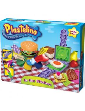 Набор для лепки Plastelino гамбургерные