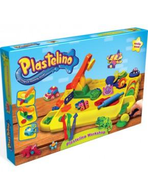 Набор для лепки Plastelino Мастерская