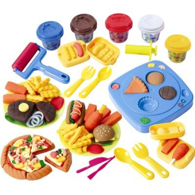 Набор для лепки Playgo Закусочная Dough Diner Cafe
