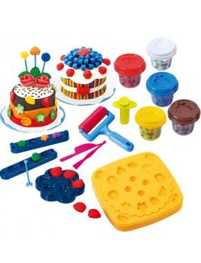 Набор для лепки Playgo Мастерская тортов Little Cake Dough Set