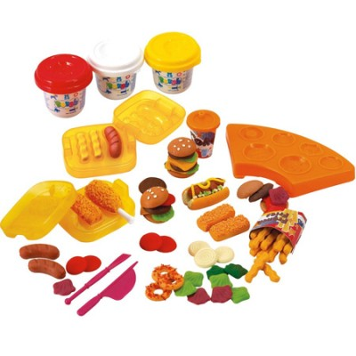 Набор для лепки Playgo Бургерна Burger Set