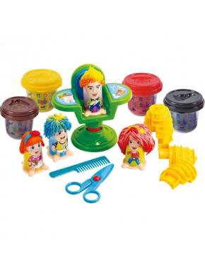 Набор для лепки Playgo Парикмахерская Hairdresser