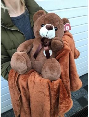 ПЛЕД+ПОДУШКА( Медвежонок)