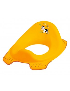 Детская накладка на унитаз Prima Baby Funny Farm Желтая (8723.456)