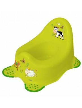 Детский горшок Prima Baby Funny Farm Зеленый (8722.274)