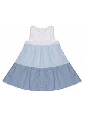 Платье Sasha 104 см Голубое (4357)