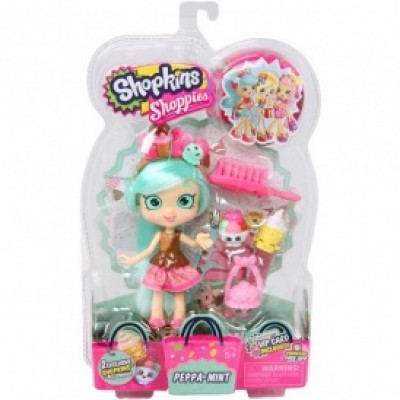 Кукла SHOPKINS SHOPPIES - МИНДИ МИНТИ