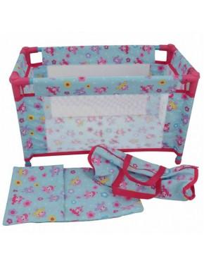Кукольная кроватка DollsWorld для путешествий в сумке