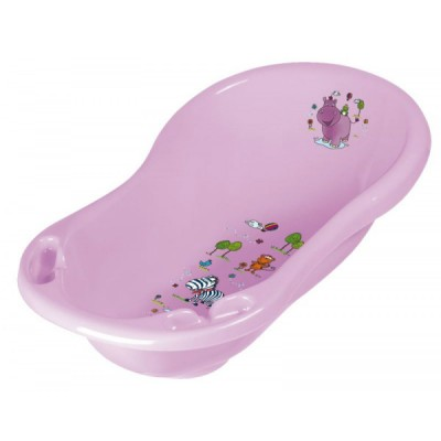 Детская ванночка Keeeper Hippo 84 см Сиреневая (8436.509)