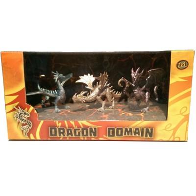Игровой набор HGL Dragon Domain Мир драконов Серия C 3 шт