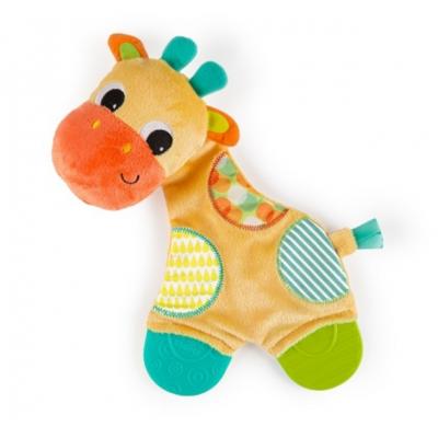 Плюшевая игрушка-прорезыватель Bright Starts Мягкие друзья Жираф (8916)