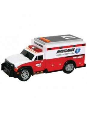 Игрушка Toy State Спасательная техника Скорая помощь со светом и звуком 30 см