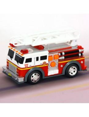 Игрушка Toy State Спасательная техника Пожарная машина с лестницей со светом и звуком 13 см