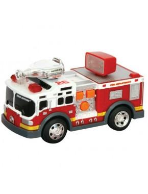 Игрушка Toy State Спасательная техника Пожарная машина со светом и звуком 13 см