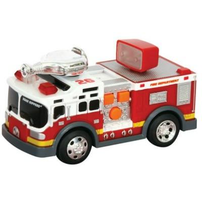 Игрушка Спасательная техника Пожарная машина со светом и звуком 13 см
