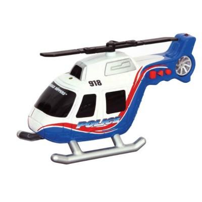 Игрушка Спасательная техника Вертолет со светом и звуком 13 см